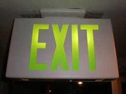 xit signs,tritium exit signs,emergency exit signs,photoluminescent exit signs,lithonia exit signs