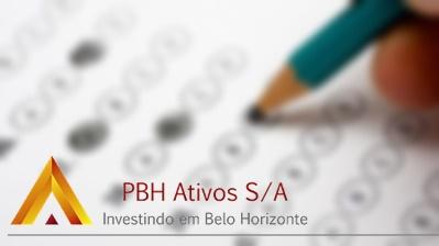 Concurso PBH Ativos S/A 2017