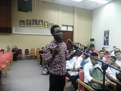 STEM Untuk Mahasiswa Mendepani Revolusi Industri Ke-4. Terima Kasih Perpustakaan Kedah!