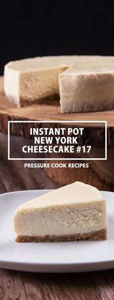INSTANT POT NEW YORK CHEESECAKE #17