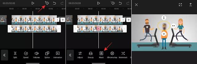 Cara Membuat Blur Video di CapCut ( Blur Penuh atau Sebagian)-3