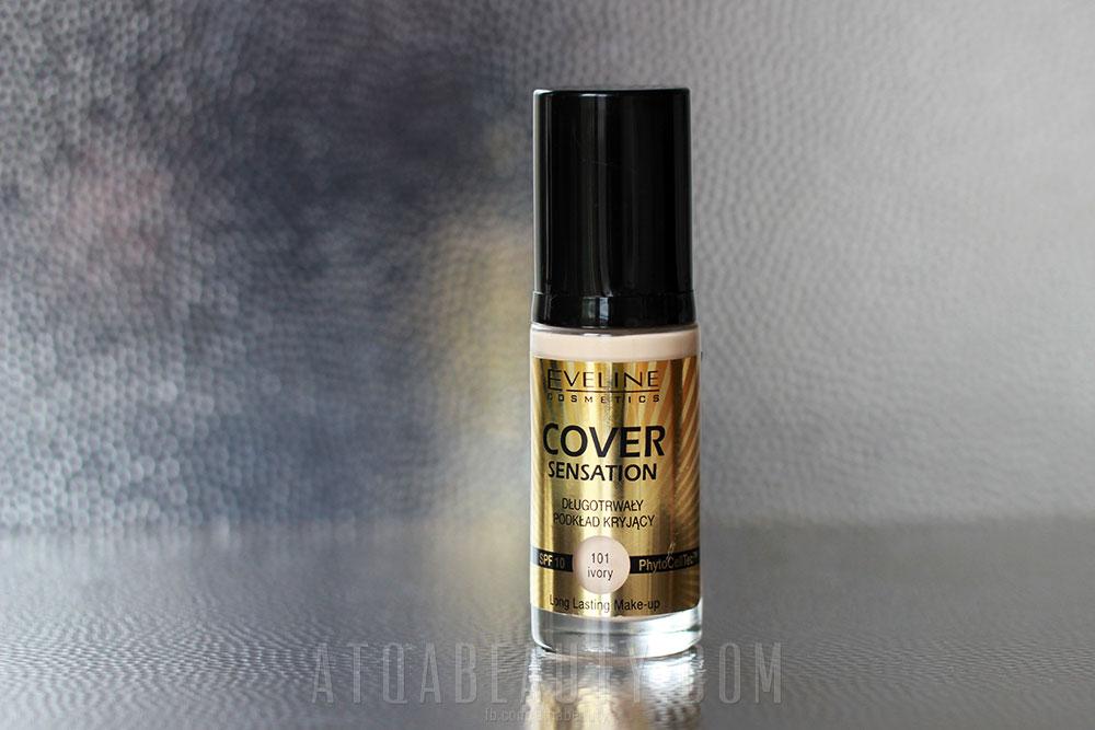 Makijaż :: Brawa dla Eweliny! <br>(Eveline Cosmetics, Cover Sensation, Długotrwały podkład kryjący)