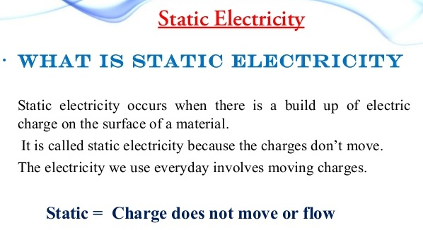 lesson plan of static electricity general science grade v
