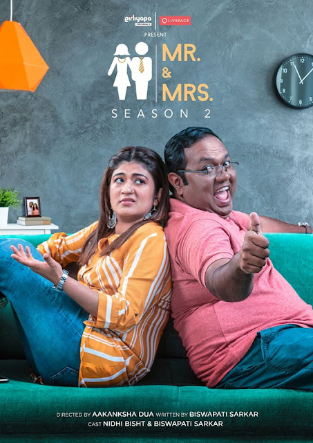 Girliyapa new web series' Mr. & Mrs. Season 2' Plot Wiki,Cast,Promo