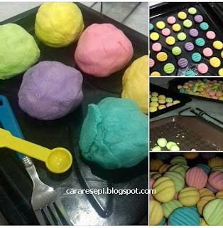 German Cookies Sukatan Cawan