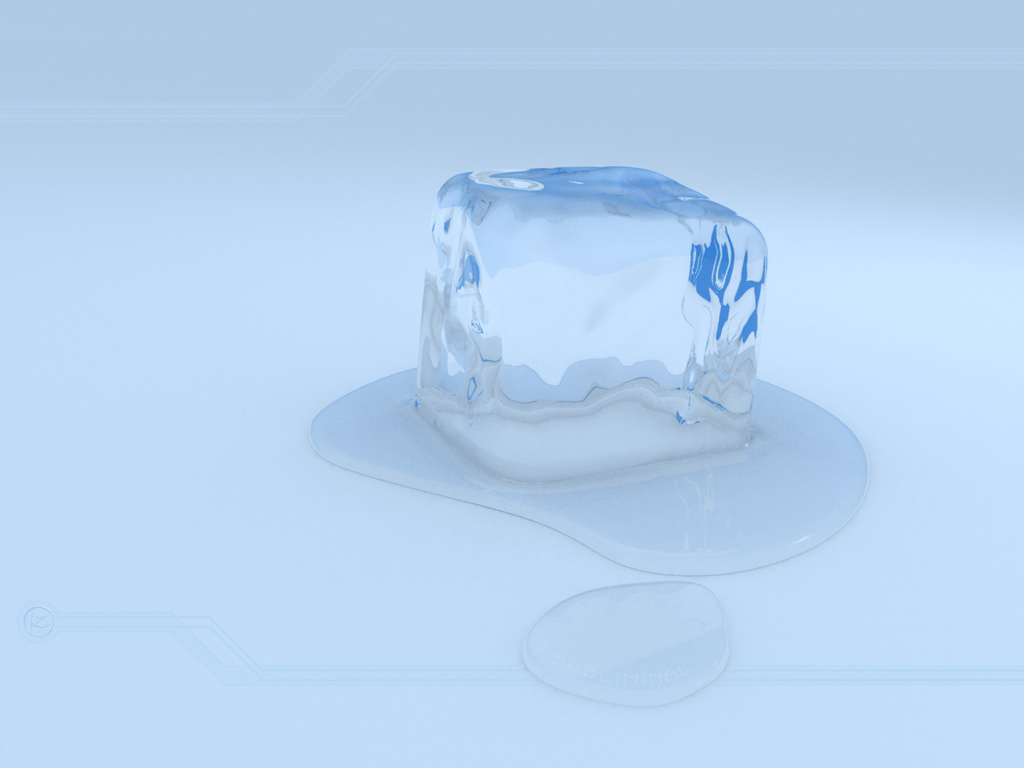 The gallery for --> Ice Cube Melting Wallpaper