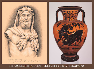 Heracles. Hercules. Metropolitan Museum of Art. New York. by Travis Simpkins