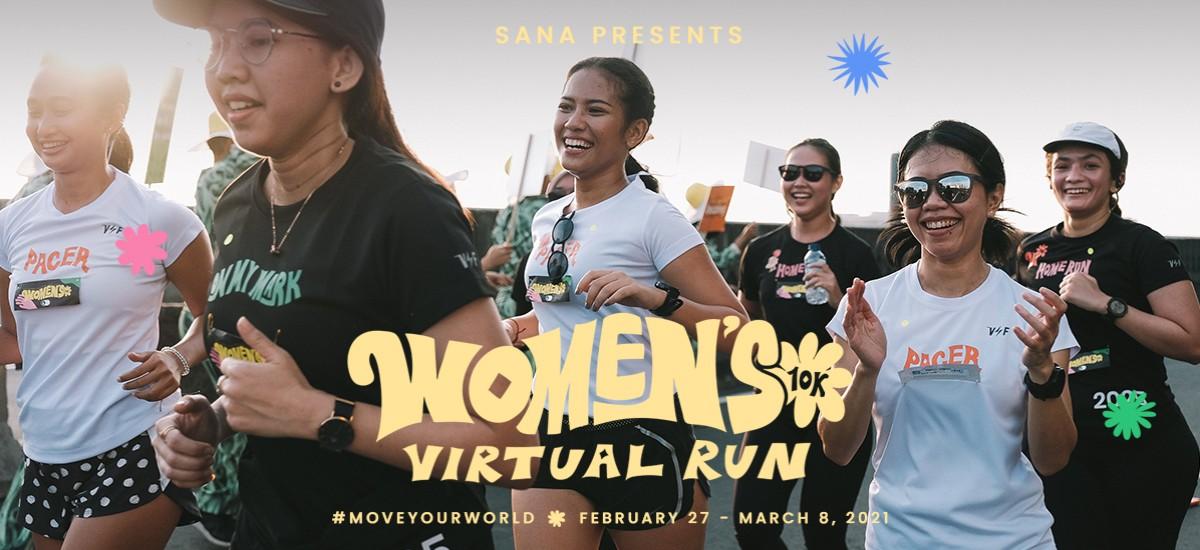 SANA ∙ Women's 10K - Virtual Run • 2021