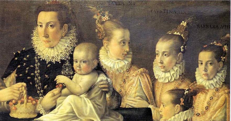Afonso III Gonzaga criança, conde de Novellara, 1581, Frans Pourbus