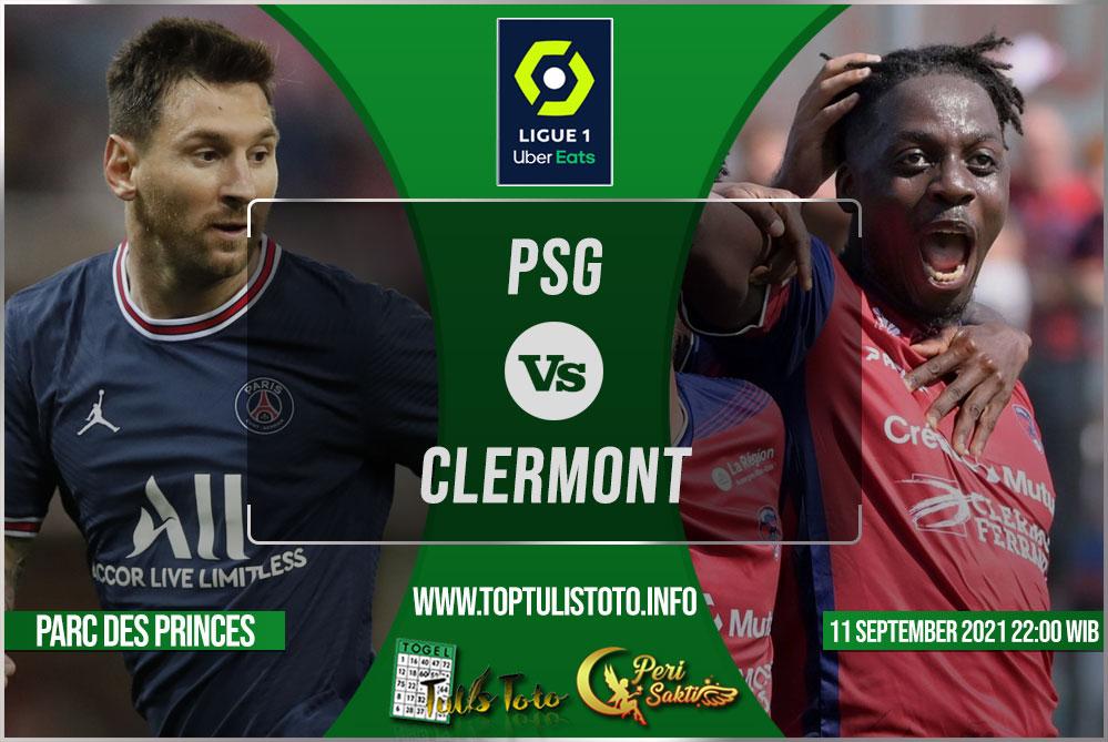 Prediksi PSG vs Clermont 11 September 2021