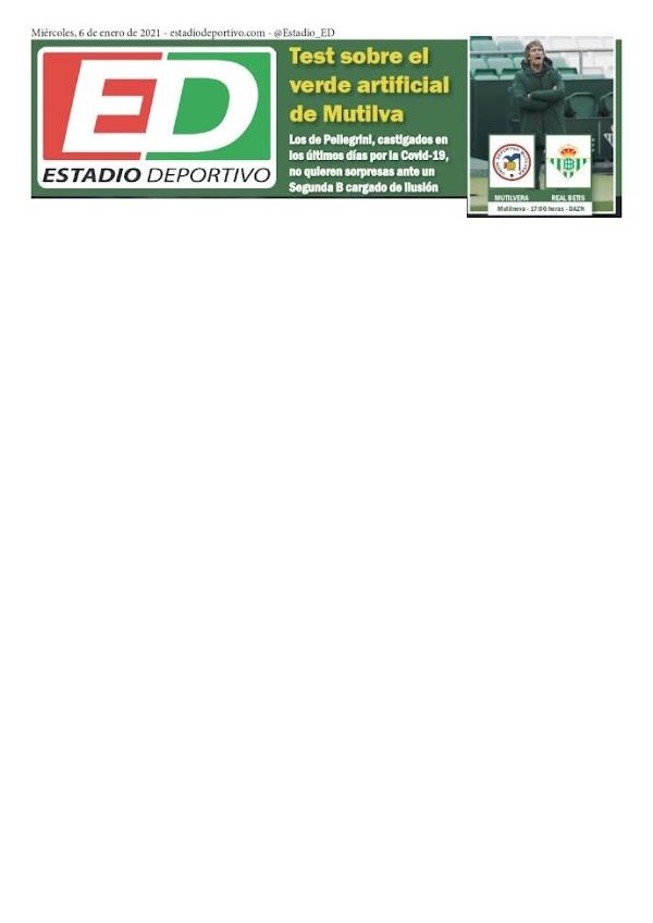 """Betis, Estadio Deportivo: """"Test sobre el verde artificial de Mutilva"""""""