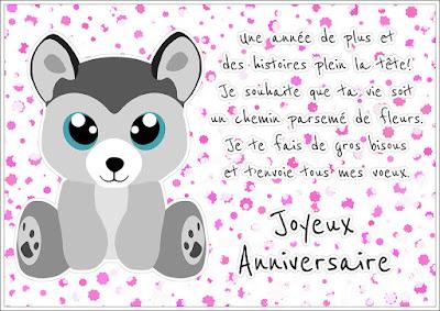 Message joyeux anniversaire