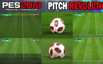 Revolution Pitch | PES2018 | All Stadiums [31.07.2018]
