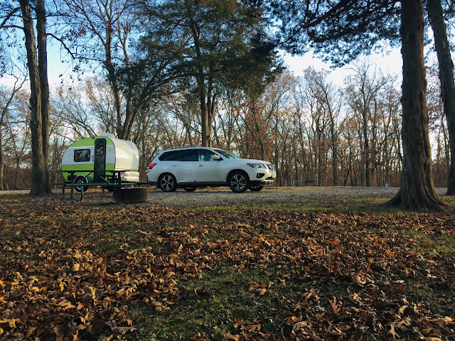 Tiny Trailer Camping, Lacey Keosauqua State Park