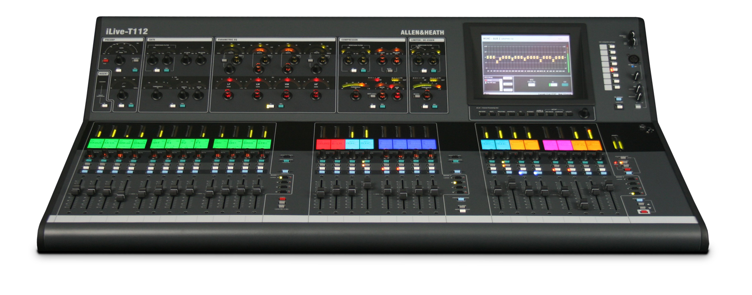 kurnia musik semarang allen heath ilive t112 digital mixer. Black Bedroom Furniture Sets. Home Design Ideas