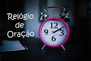 relógio de oração