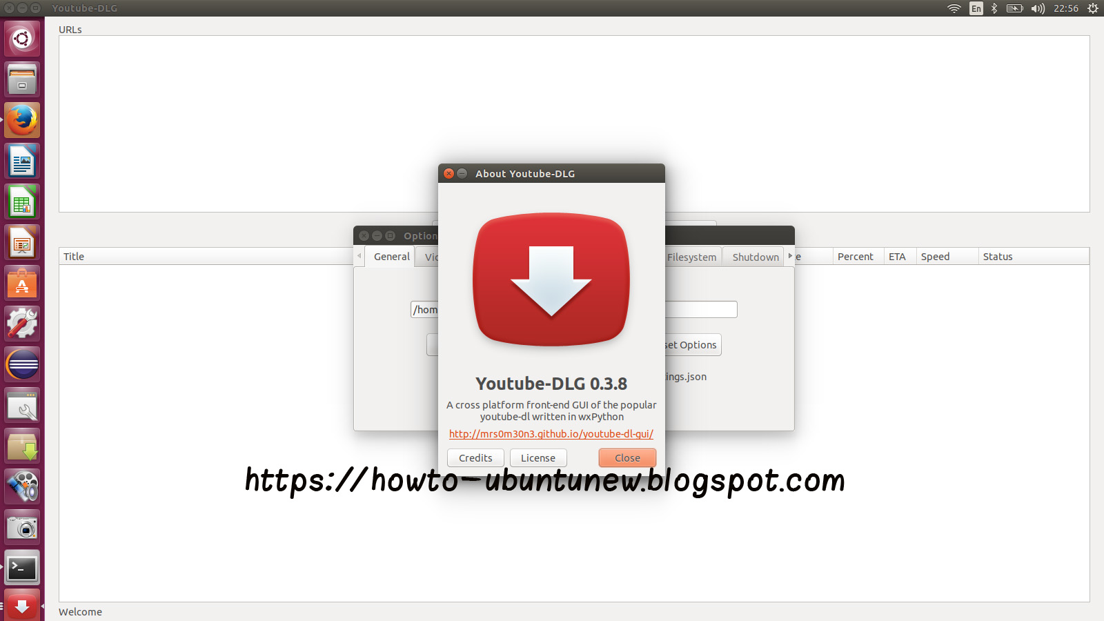 How to install program on Ubuntu: How to Install YouTube-DL GUI 0 3