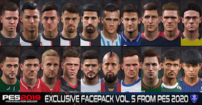 PES 2019 Exclusive Facepack Vol. 5 by Sofyan Andri