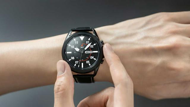 تعرف على ساعة سامسونغ غلاكسي واتش 3  samsung galaxy watch3 الجديدة 2020