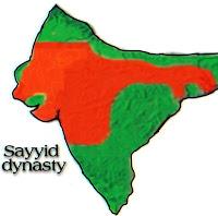 Sayyid dynasty MAP