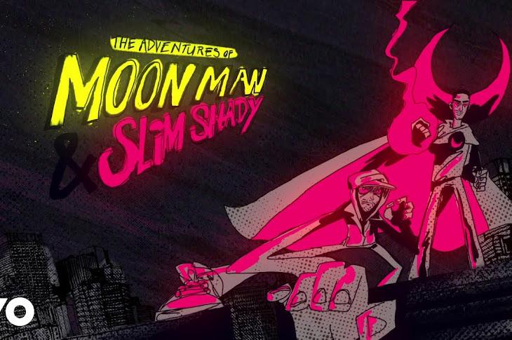 Listen: Kid Cudi - The Adventures Of Moon Man & Slim Shady Featuring Eminem