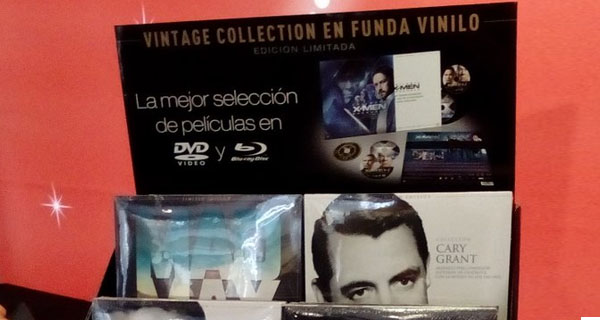 Vintage Collection: películas formato vinilo