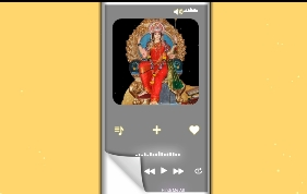 Navratri Special Avee Player Template Download Link || New Avee player Template Download link
