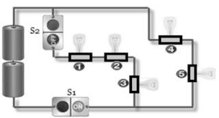 bagan skema rangkaian listrik sederhana praktikum ipa sd
