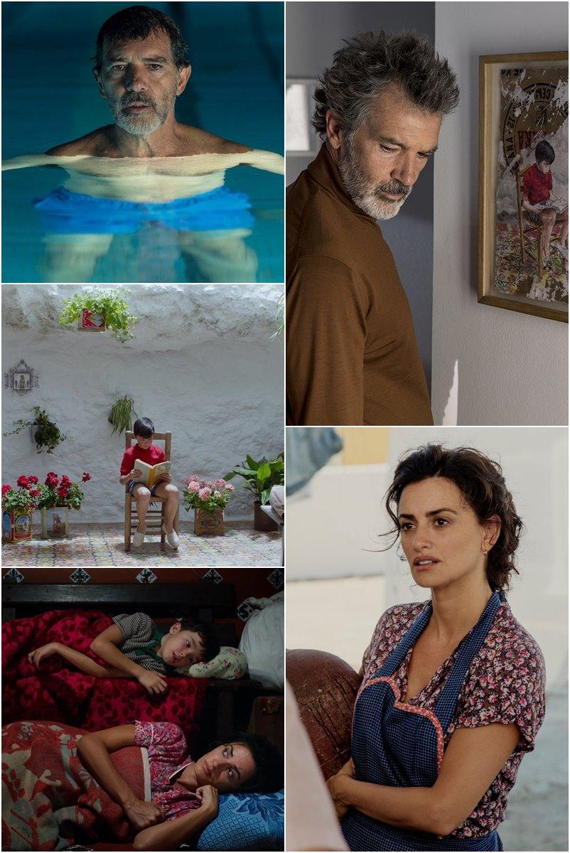 Dor E Glória um filme autobiográfico e triste do Almodóvar, mas belíssimo