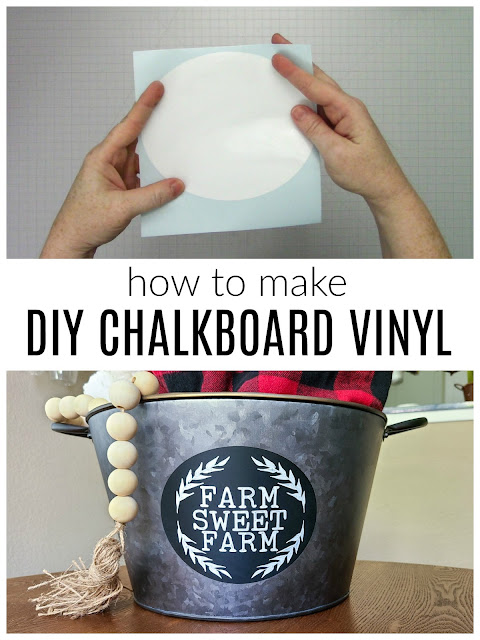 silhouette 101, silhouette america blog, chalkboard vinyl, DIY vinyl, tips and tricks