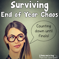 Tips for surviving the end of the year from the 2 Peas and a Dog blog.