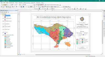Project di ArcMap