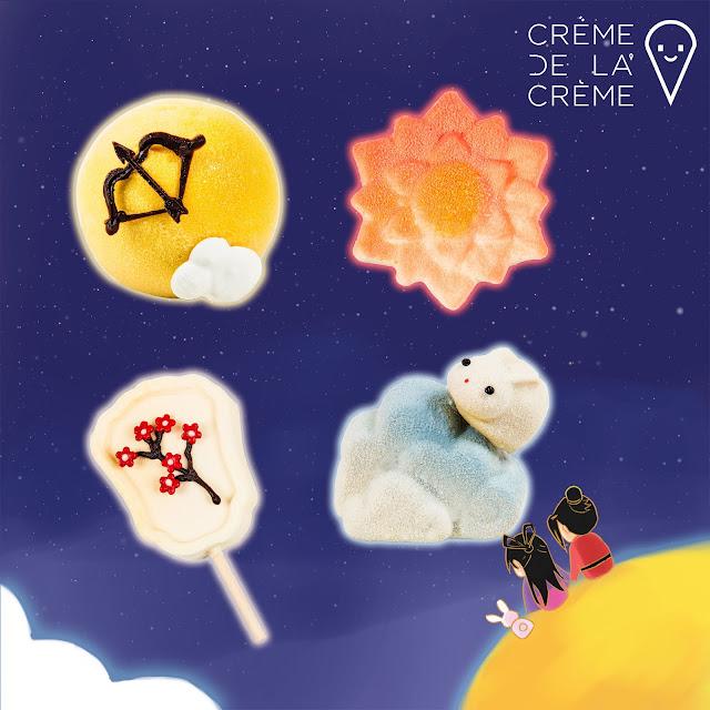 Crème De La Crème (CDLC) Mooncakes For Mid-Autumn Festival 2021