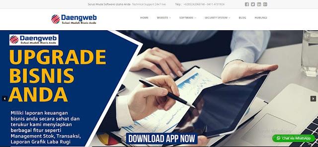 Aplikasi Kasir Makassar daeng web