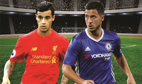 The Reds of Merseyside lock horns with the Blues of London when Liverpool host Chelsea in midweek.