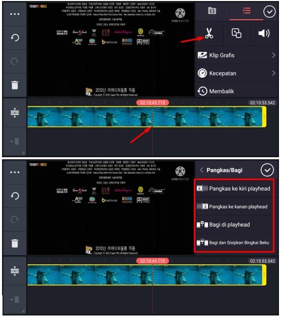 Cara Memotong Video di KineMaster