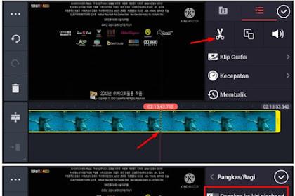Cara Memotong Video di KineMaster Cukup 1 Klik