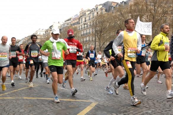 Calendários de corridas e maratonas na França em 2016