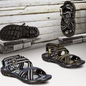 HomeShop18 Special Offer: Lee Cooper Men's Sandals worth Rs.999 for Rs.469 Only (For Today Only)