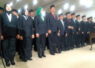 Ada 45 Anggota DPRD Bondowoso Dilantik, Perwakilan dari 8 Parpol