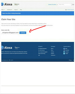 Perbedaan alexa rank blogspot.com vs blogspot.co.id 2