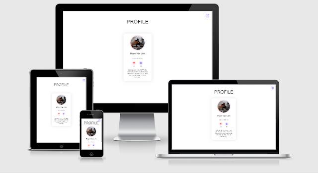 Share Template Profile giới thiệu bản thân cực đẹp !!!