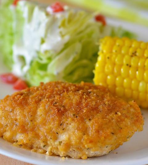 Ranch Chicken #dinner #corn #ranch #familyrecipes #healthydinner
