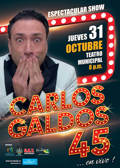 Carlos Galdós en Arequipa 2019