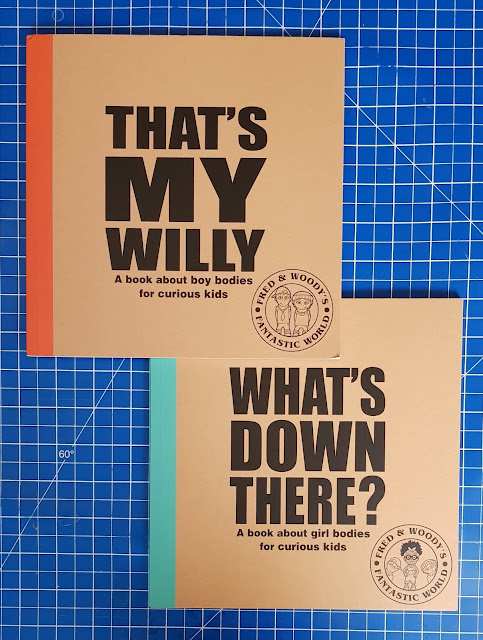 What's Down There? & That's My Willy - Children's Body Books Review.