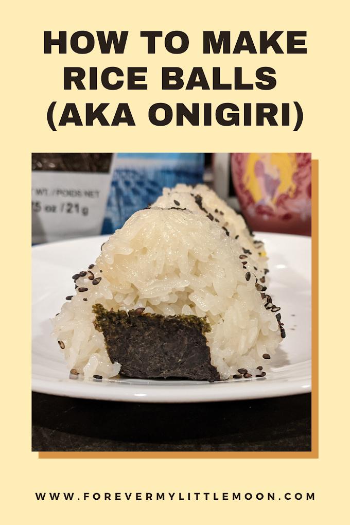 How To Make Rice Balls (aka Onigiri)