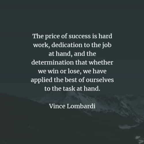 Work quotes and sayings to motivate you on your goals