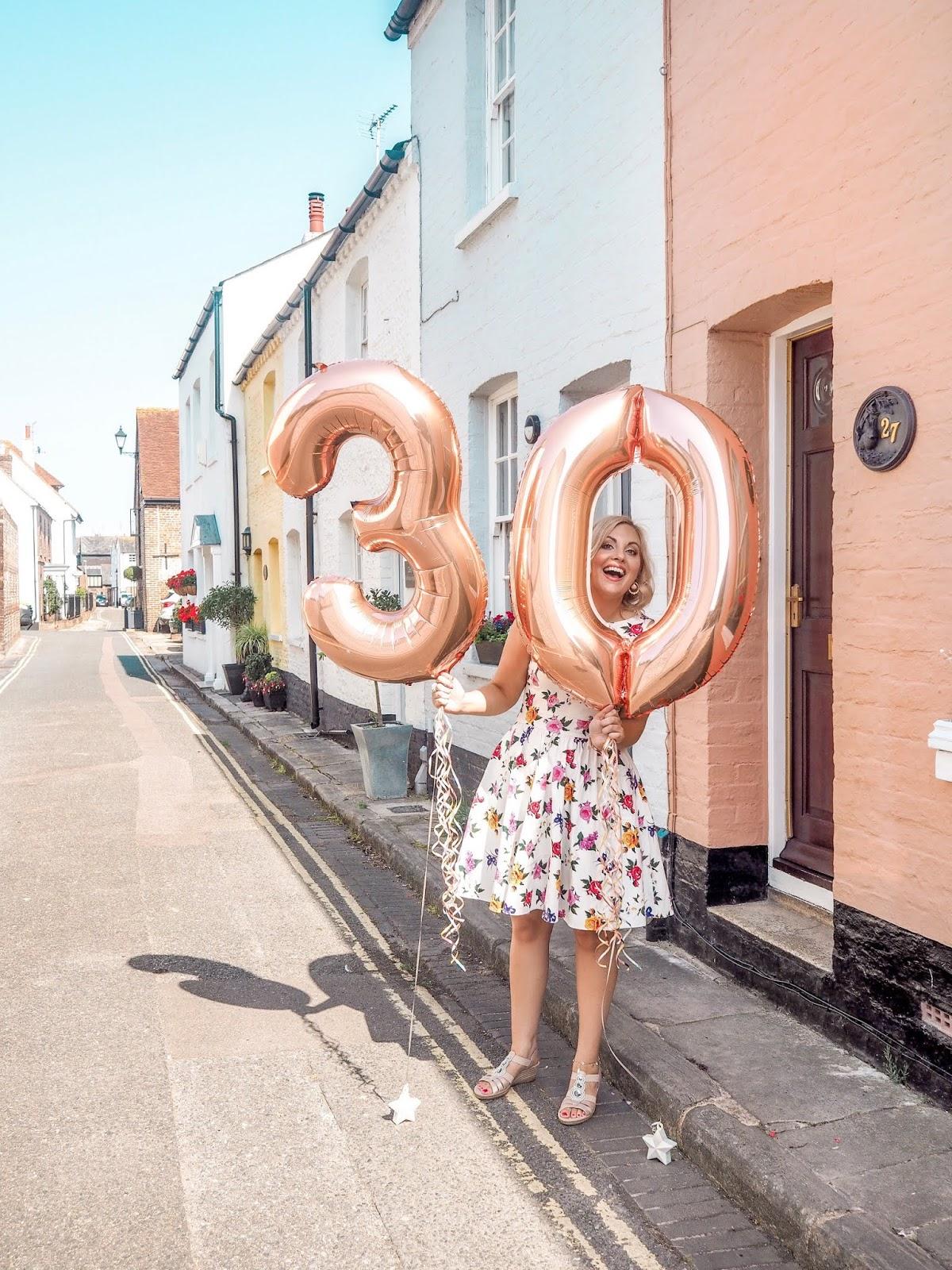 My Feelings On Turning 30, Katie Kirk Loves, UK Blogger, 30th Birthday, 30 Flirty and Thriving, UK Fashion Blogger, UK Lifestyle Blogger, Turning 30 In Style, Over 30s Fashion, 30 and Fabulous, Milestone Birthday, Party Blogger, Vintage Tea Dress