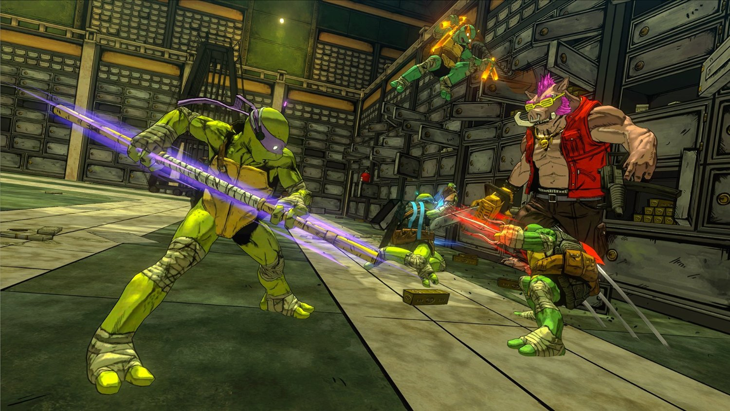 : TEENAGE MUTANT NINJA TURTLES - MUTANTS IN MANHATTAN (PC, PS4, PS3