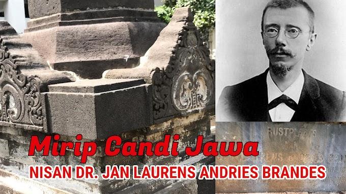 Pusara Dr. Jan Laurens Andries Brandes Mirip Candi di Taman Prasasti Jakarta
